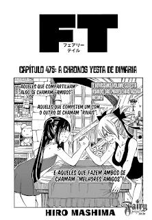 Fairy Tail 475 Mangá Português leitura online