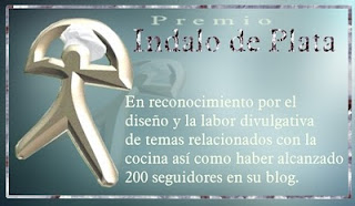 PREMIO NDALO DE PLATA