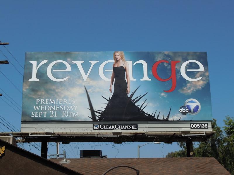 Revenge TV billboard