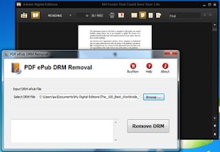 PDF ePub DRM Removal