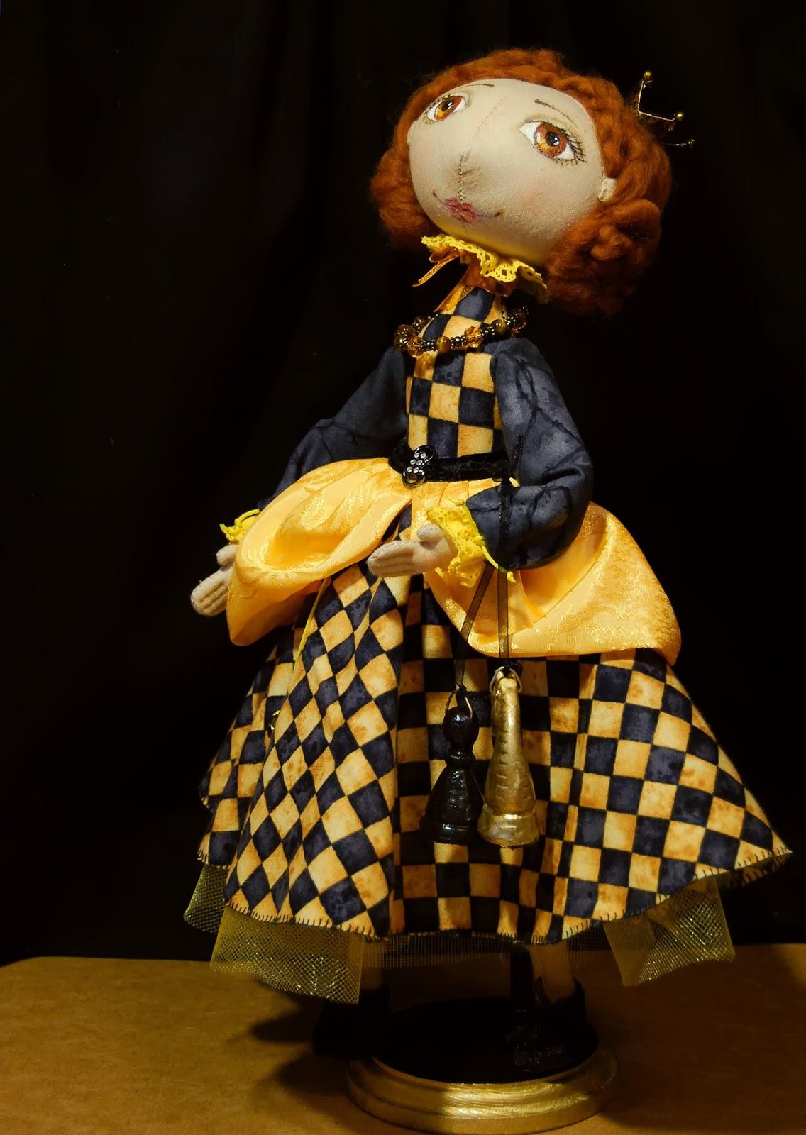 Как сделать шахматы для кукол