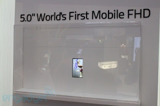 World's First Mobile Inch FHD