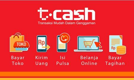 Cara Transfer Uang Menggunakan T-Cash Telkomsel