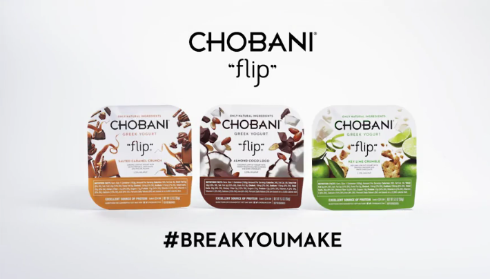 chobani break you make