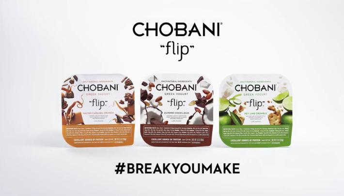 chobani break you make