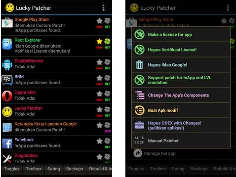Screenshot Lucky Patcher
