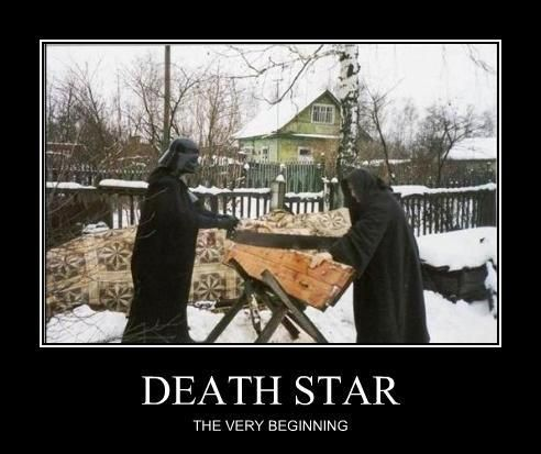 The Very Beginning Of Death Star