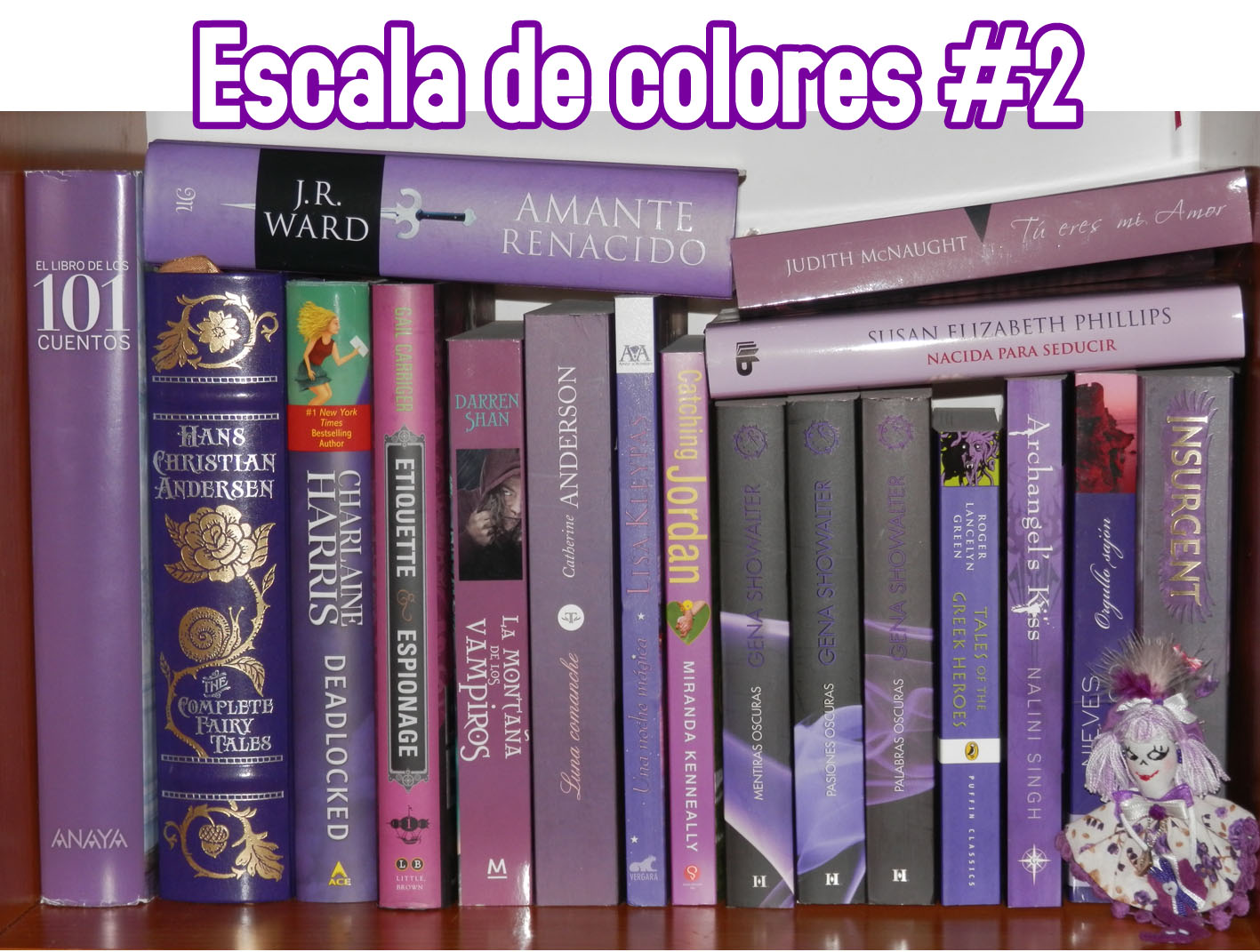 Book eater: Escala de colores 2: morado