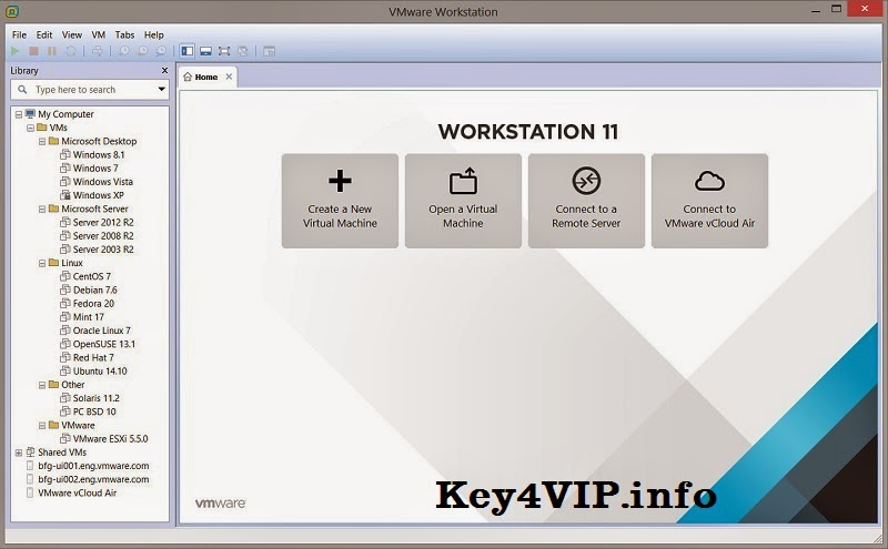VMware Workstation 11.0.0 Build 2305329 Final Full Key
