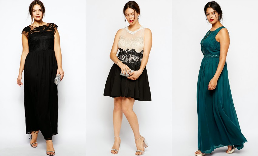 And I Get Dressed: 9 Plus Size Glam Holiday Dresses