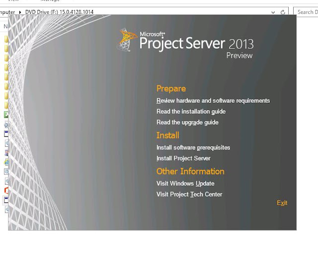 nothing but technology installing project server 2013 in rh sp vinod blogspot com microsoft project server 2013 administrator's guide pdf microsoft project server 2013 developer guide