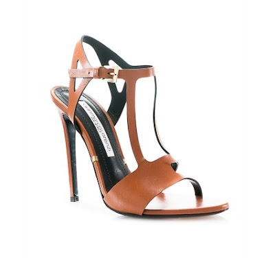 Gianmarco Lorenzi Brown High Heel stiletto sandals