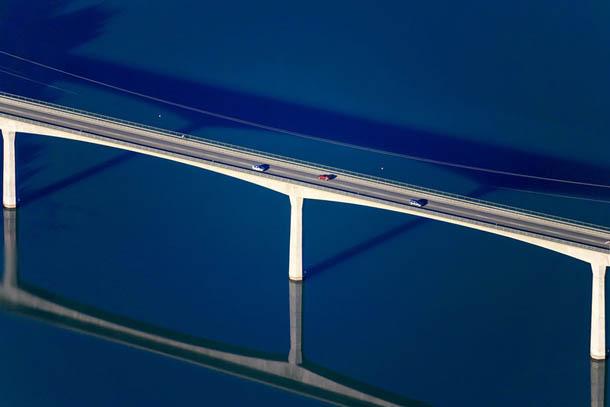 Fotografia aérea minimalista - Klaus Leidorf