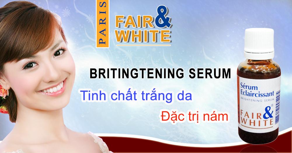 Tinh chất dưỡng trắng da đặc trị nám {se khít lỗ chân lông} Fair
