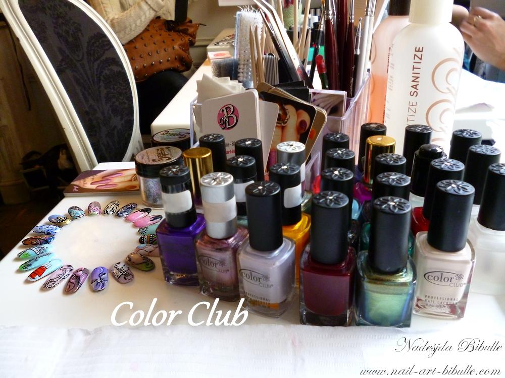 Nail Bar - Color Club - Le Cocon des Demoiselles - Brunch Parisien - Rencontres Nail Art Chapitre 1!