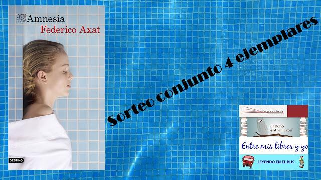Sorteo conjunto Amnesia de Federico Axat