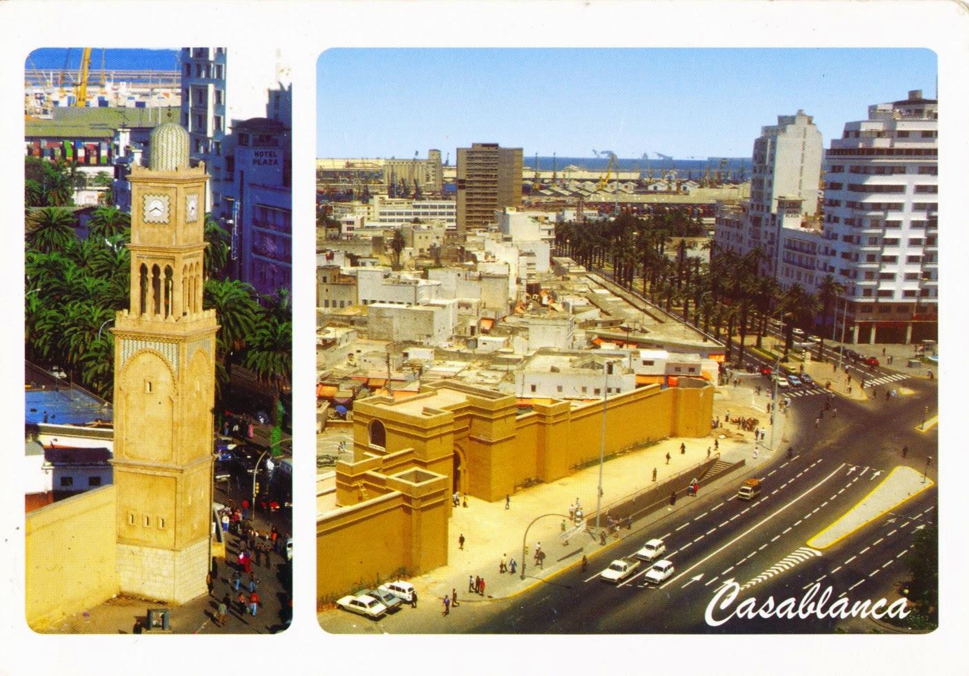 morocco, postcard, mosque