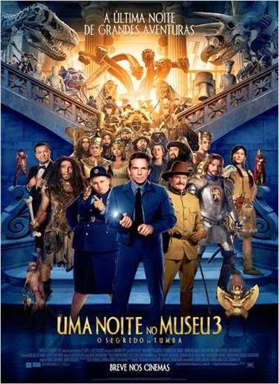 Download Uma Noite no Museu 3 O Segredo da Tumba AVI + RMVB Dublado Torrent