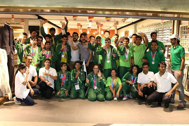 Edenrobe Tribute to Special Olympic Pakistan - Happy Independence Day 2015