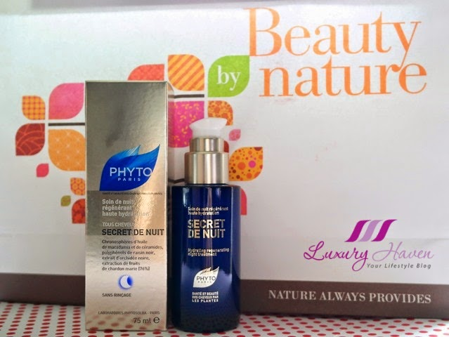 beauty by nature phyto secret de nuit review