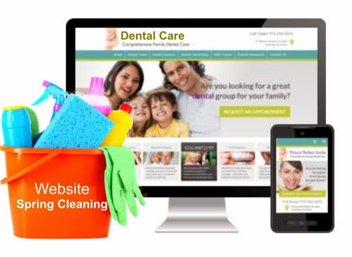 Solution21 Dental and Medical Website Spring Cleaning
