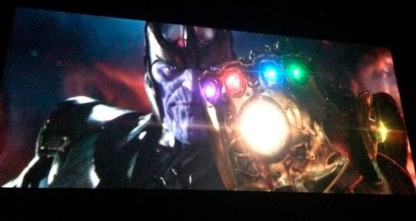 Thanos y el guantelete del Infinito