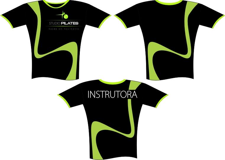 Profissionalmente: Camisetas Studio Pilates