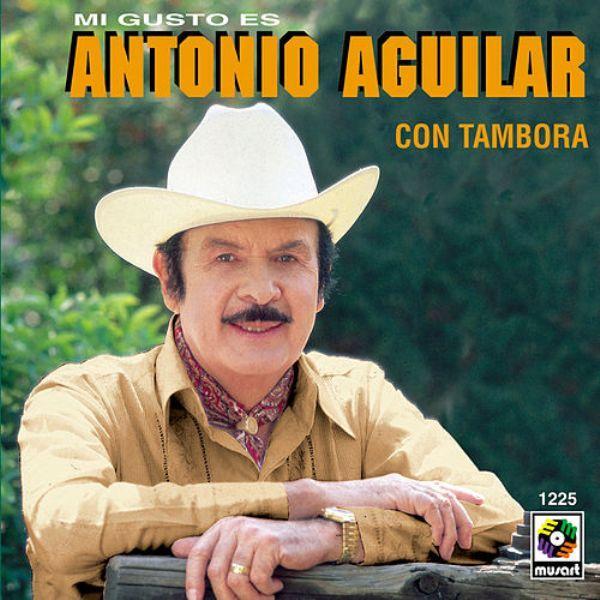 Antonio Aguilar - Mi Gusto Es ( Con Tambora ) CD Album 1994