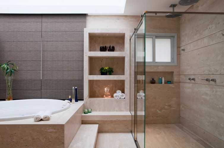 decoracao interiores banheiros pequenos : decoracao interiores banheiros pequenos:36 banheiros modernos e contemporâneos + dicas de cores e