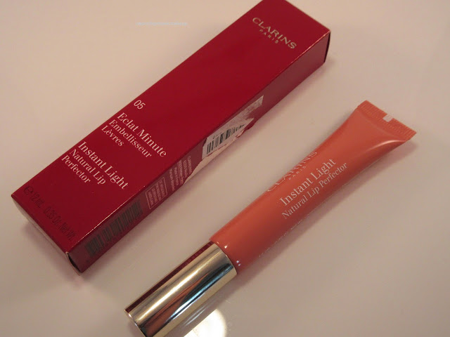 Clarins Candy Shimmer Instant Light Lip Perfector with box