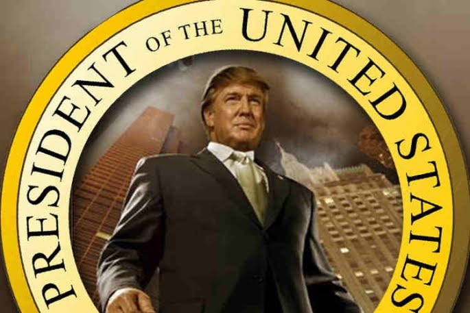 WE ARE THE PEOPLE  LET' AMERICA RUN ON DONALD