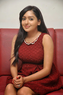 Anjana Deshpandey in Lovely Right Red Frock  Stunning Glam Pics Must see
