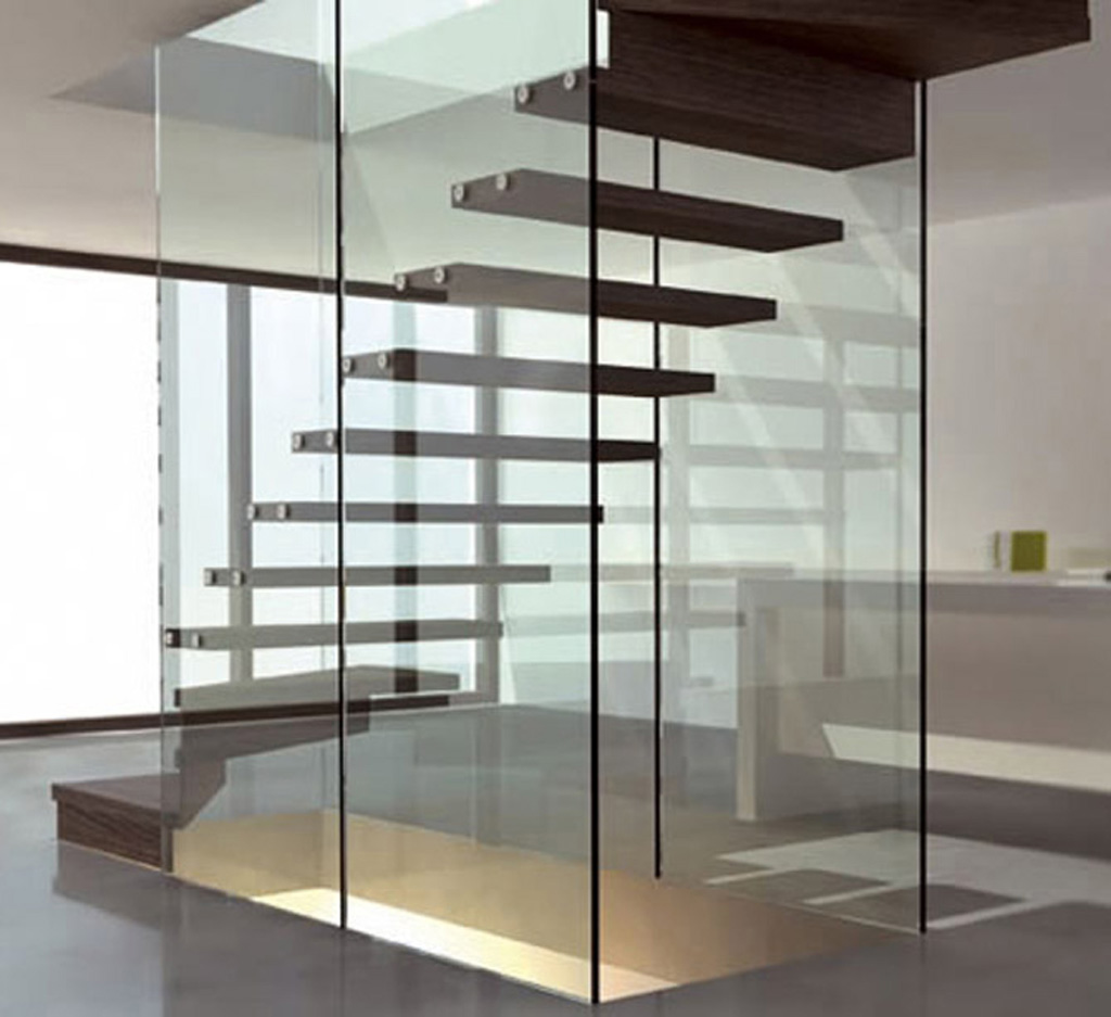Modern Staircase Design Picture The Luxurious Design Of The Staircase HOMEVERO