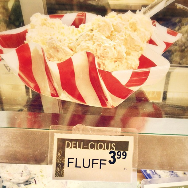 fluff as food