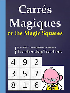 https://www.teacherspayteachers.com/Product/LOUISIANA-Carres-Magiques-2088793