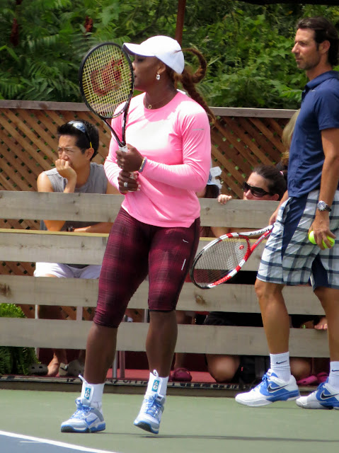 Serena Williams Patrick Mouratoglou Rogers Cup 2013