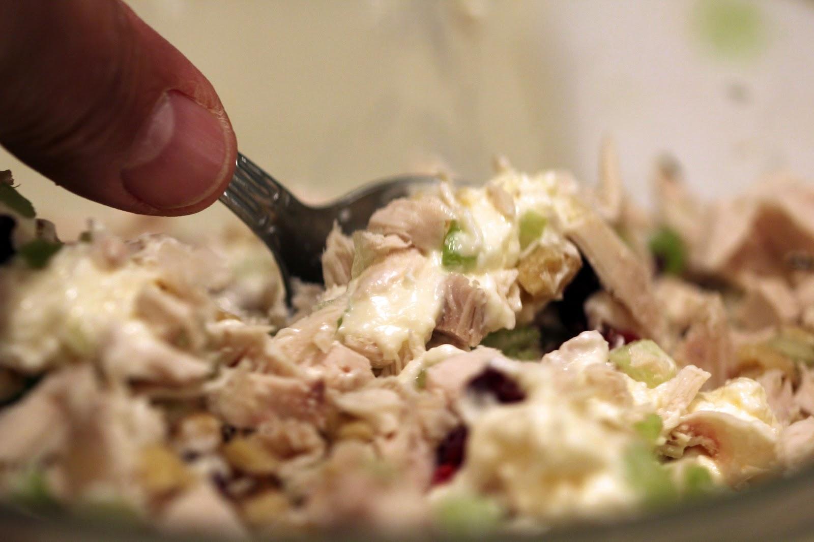 how to make chicken sandwich spread