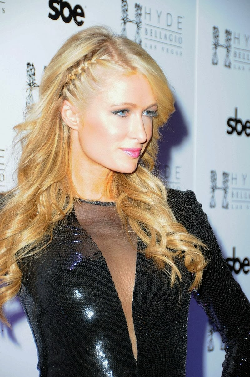 Paris Hilton Spicy Photos at Hyde Bellagio Las Vegas