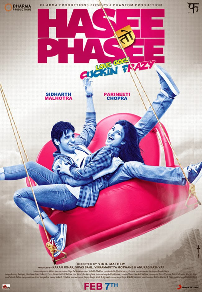 Hasee Toh Phasee (2014) Blu Ray + Subtitle Indonesia