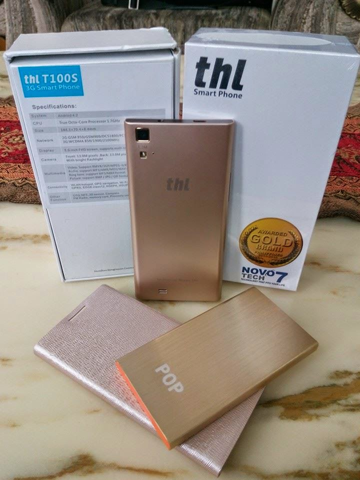 thl t100s gold edition