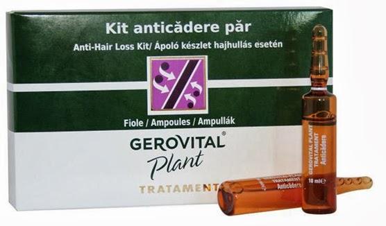 Kit anticadere par - Gerovital Plant Tratament