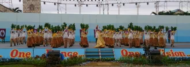 Cebu City government contingent  Sinulog 2014
