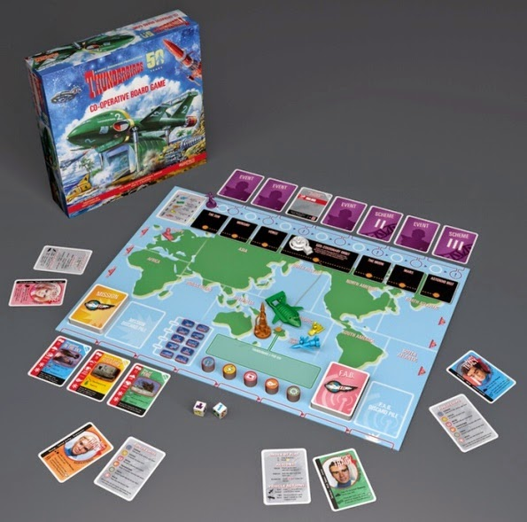 Thunderbirds cooperative boardgame