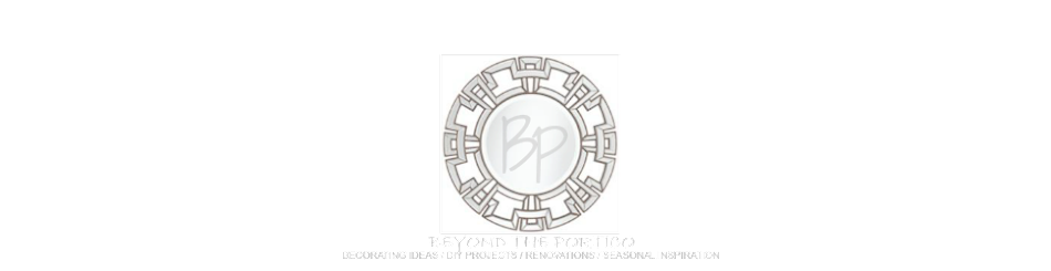 beyond the portico