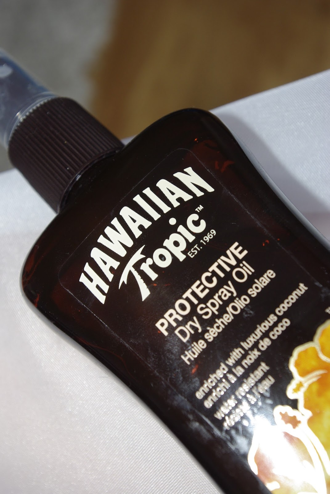 Hawaiian Tropic Protective Dry Spray Oil LSF 10