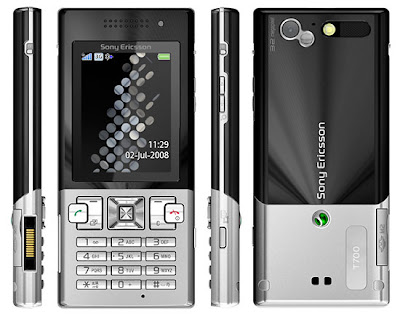 Download free Firmware Sony Ericsson T700, fitur and specification sony ericsson t700