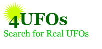 Text reads 4UFOs Search for Real UFOs