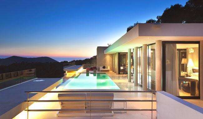 Casas minimalistas y modernas casa lujosa y minimalista en ibiza luxury and minimal style - Apartamentos en ibiza ...