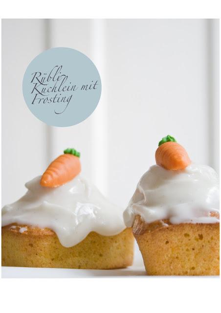 Rübli Küchlein mit Frosting