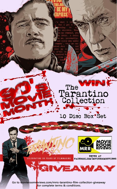 Tarantino Film Collection Blog Giveaway